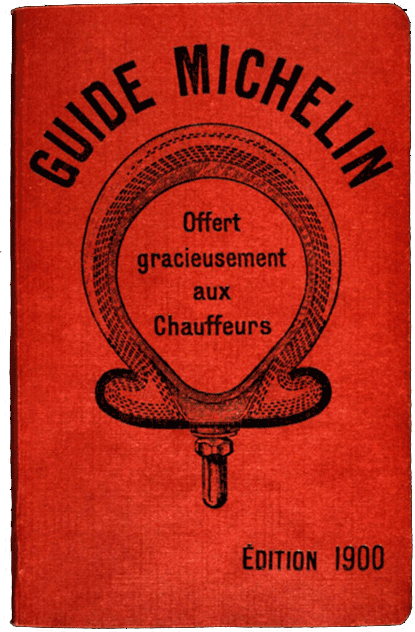 The First Michelin Guide